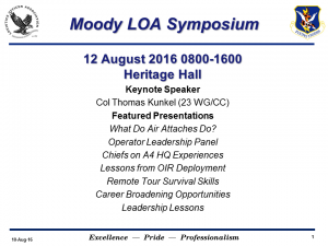 Moody LOA Symposium Flyer